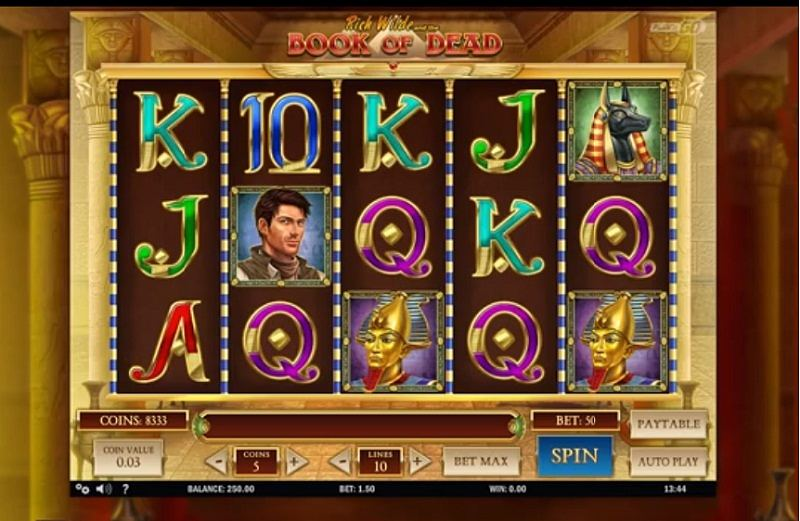 Book f Dead slot by Play' n GO is always a good slot game to play no matter where you from