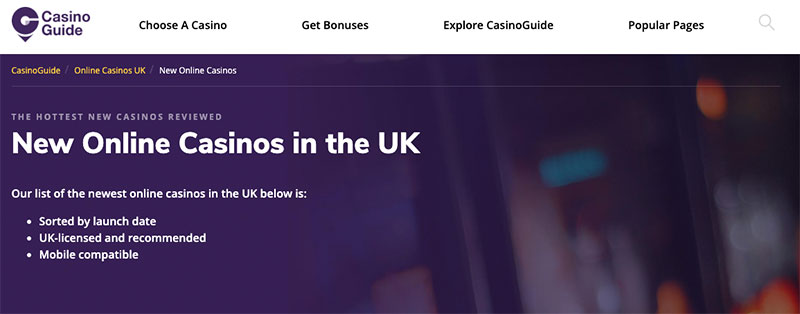 A Guide to Joining New Casinos