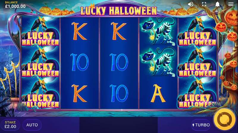 Lucky Halloween slot by Red Tiger Gaming