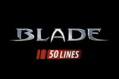 Blade 50 Lines Slot